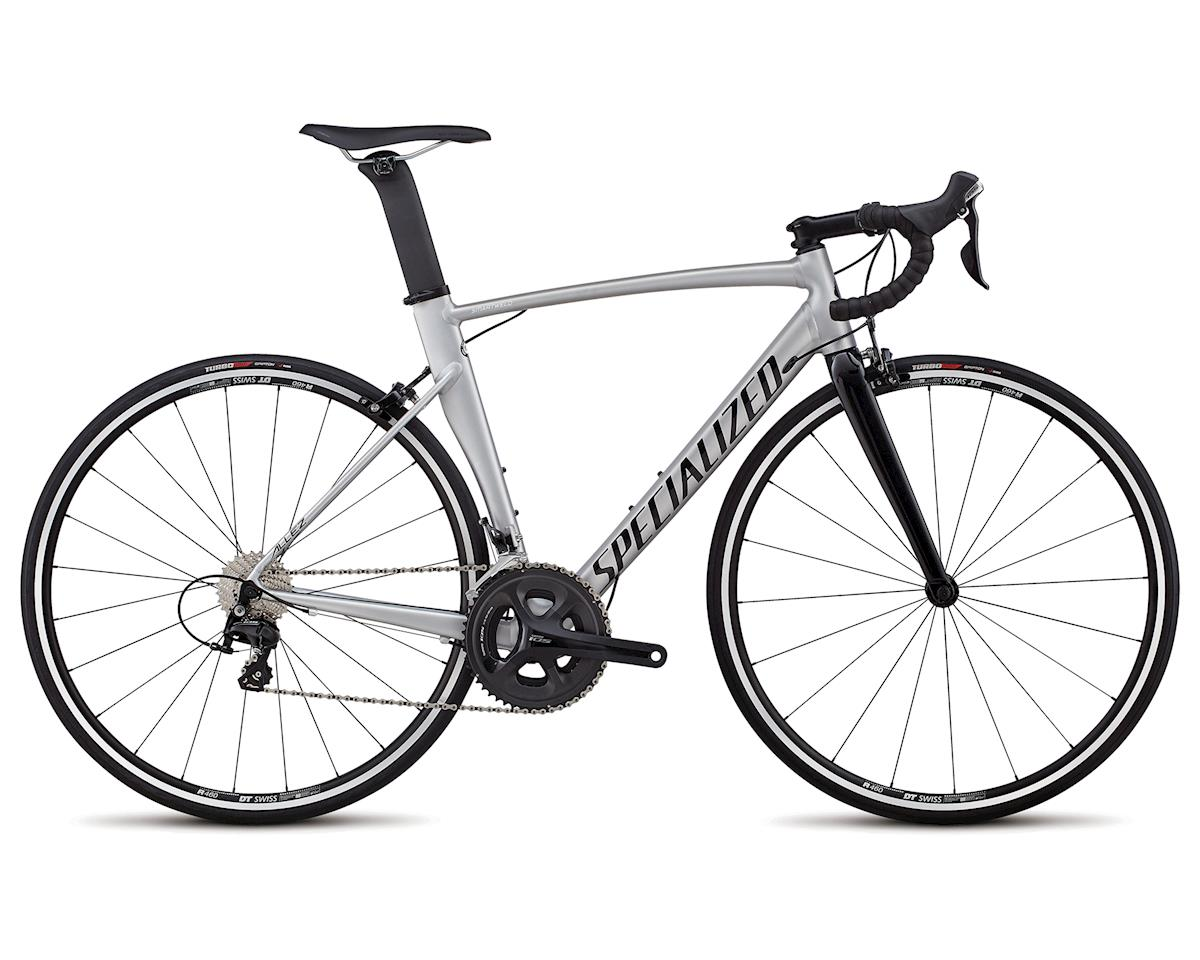 Specialized 2018 Allez Sprint Comp (Satin Brushed/Gloss Tarmac Black)