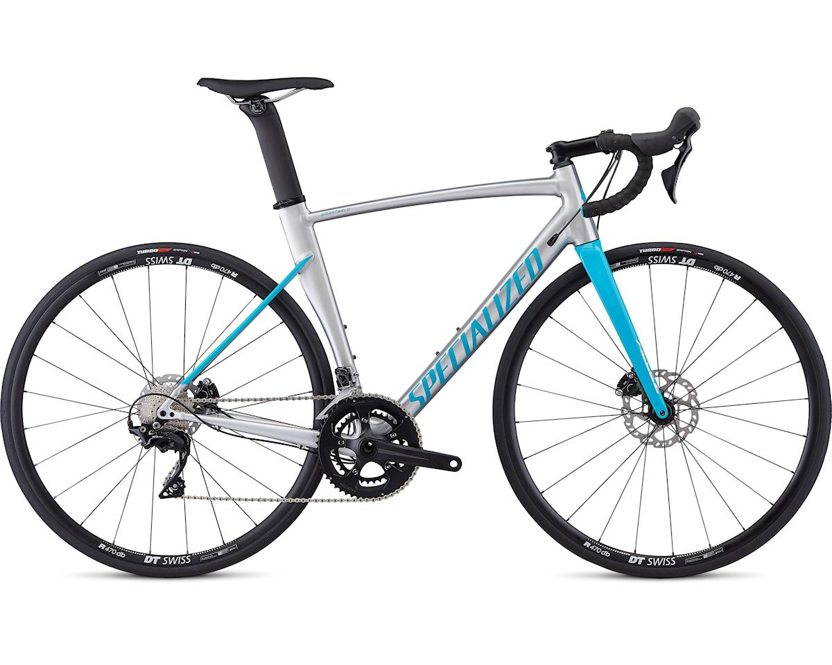 Specialized 2019 Allez Sprint Comp Disc (Gloss Brushed/Nice Blue)