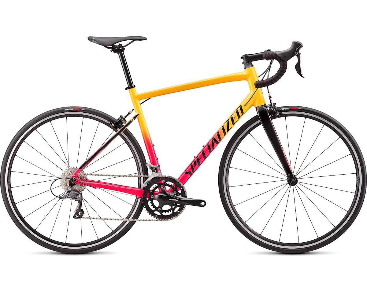 Specialized 2020 Allez (Gloss Golden Yellow-Vivid Pink Fade/Tarmac Black)