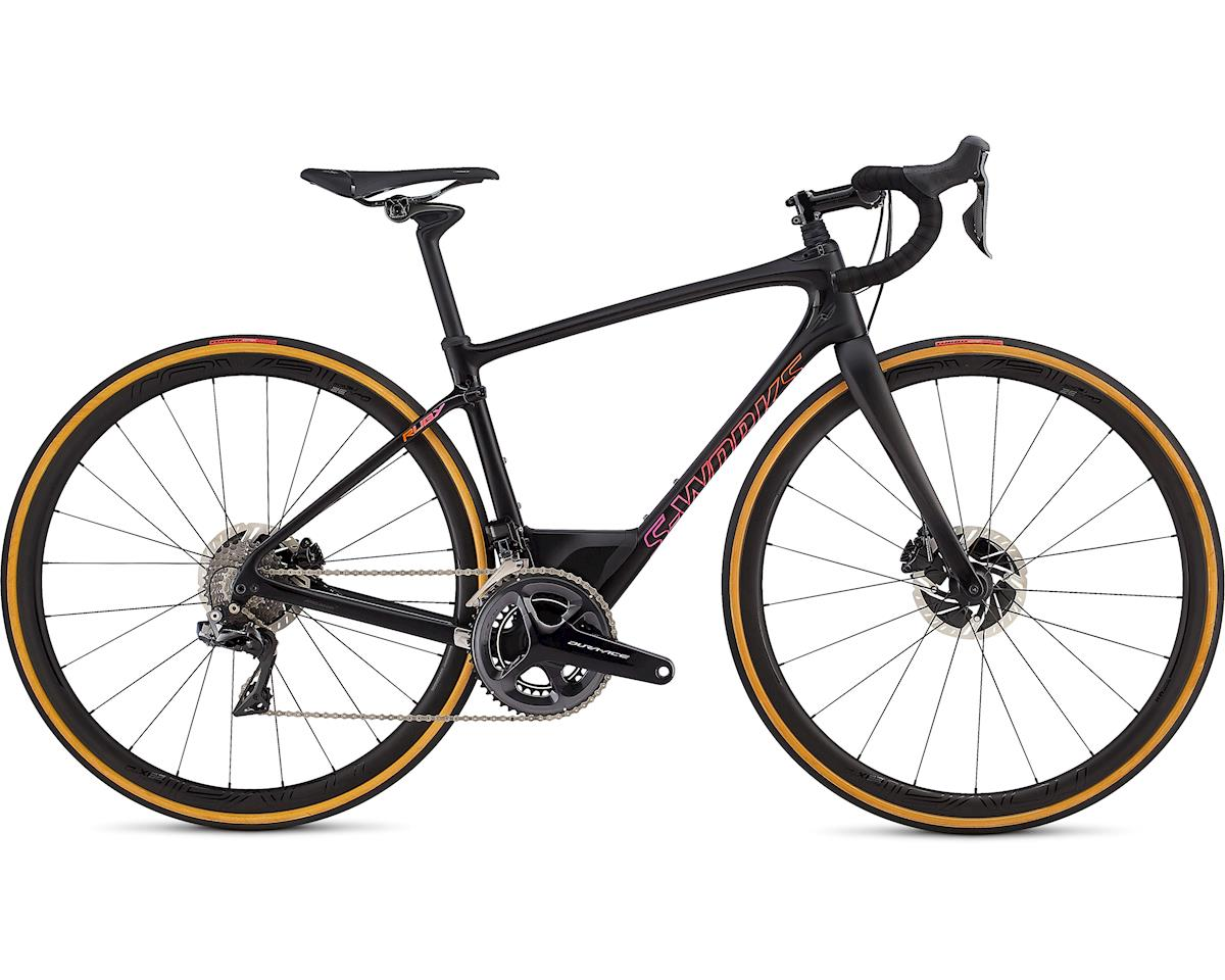 Specialized 2019 S-Works Ruby Di2 (Gloss Carbon/Acid Purple Rocket Red Fade)