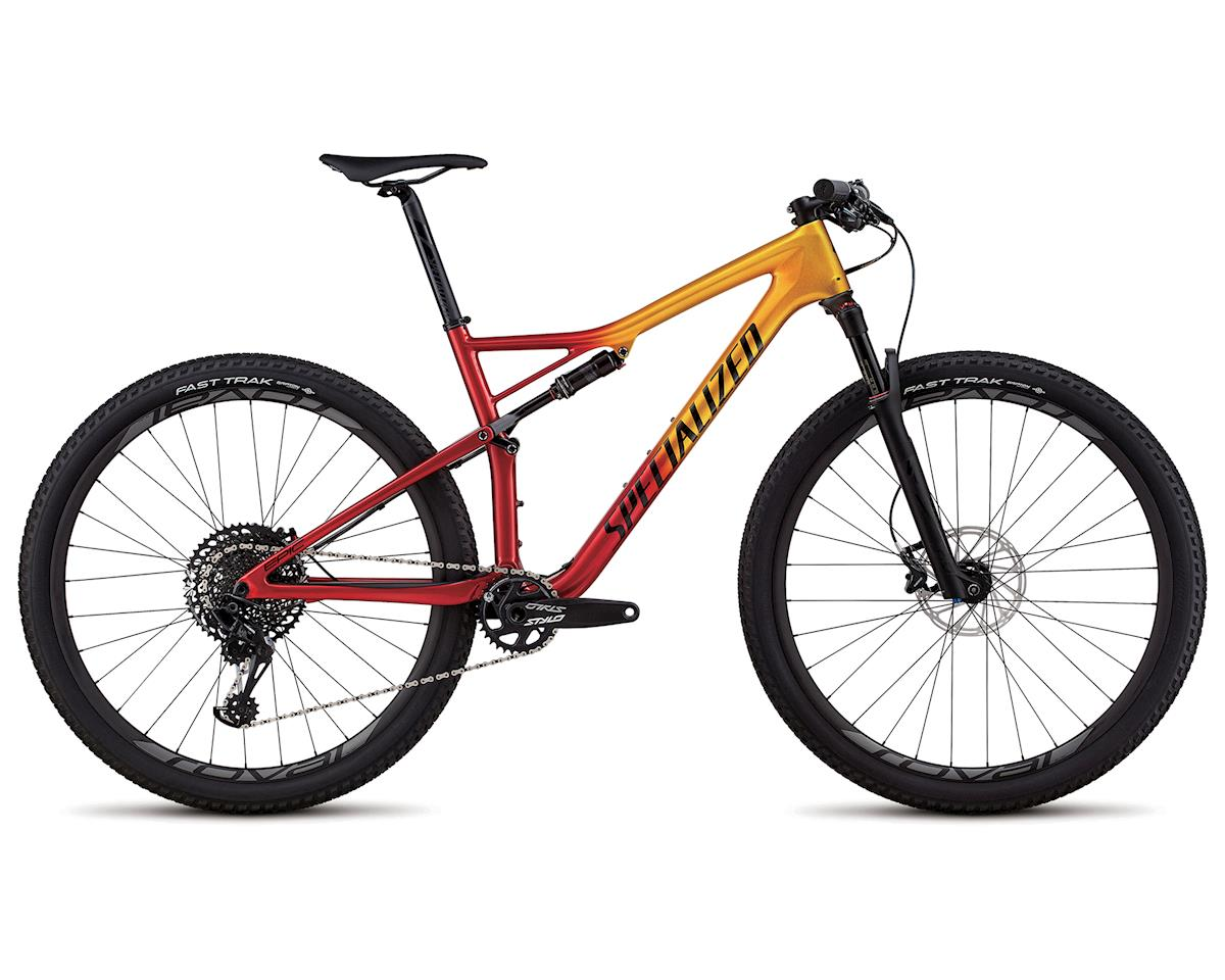 Specialized 2018 Men's Epic Expert (GLOSS GOLD FLAKE / CANDY RED / COSMIC BLACK)