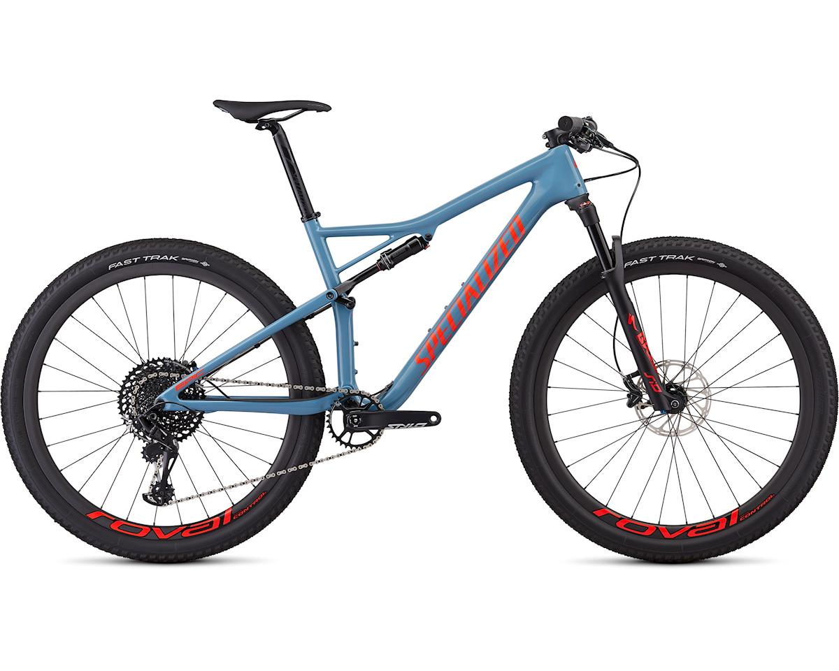 Specialized 2019 Men's Epic Expert (Gloss Storm Grey/Rocket red)