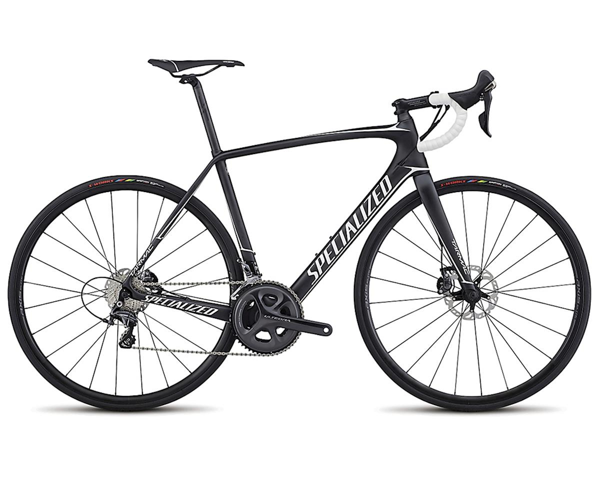 Specialized 2017 Tarmac Comp Disc (Satin Carbon/White) (54cm)