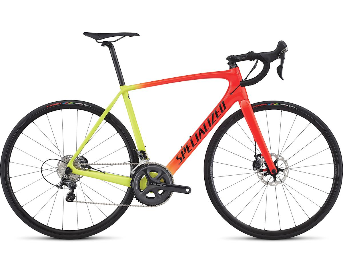 Specialized 2017 Tarmac Comp Disc (GLOSS ROCKET RED / TEAM YELLOW / TARMAC BLACK FADE) (49)
