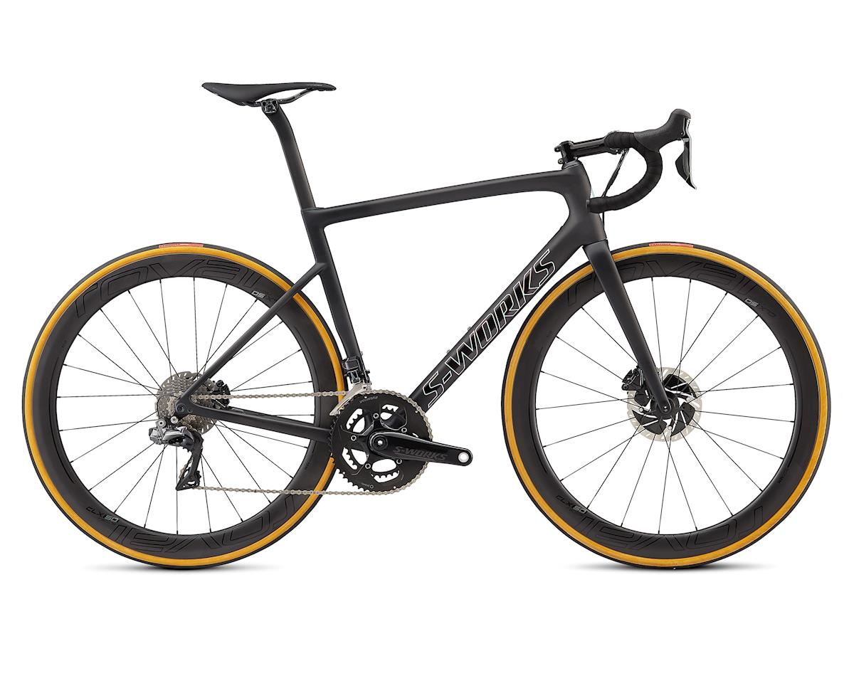 Specialized 2018 Men's S-Works Tarmac Disc (Satin Black/Silver Holo/Clean) (56)