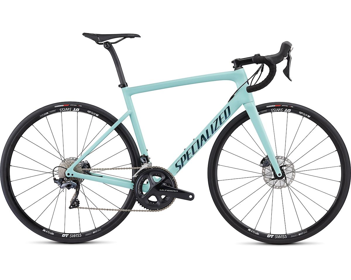 Specialized 2019 Men's Tarmac Disc Comp (Gloss Cosmic Mint/Oil Chameleon/Clean)