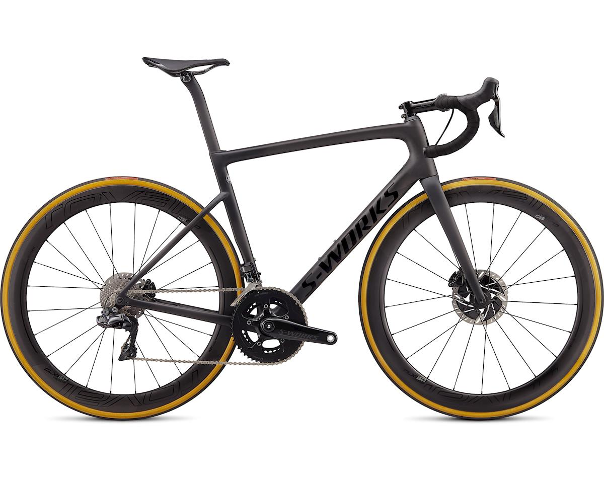 Specialized 2020 S-Works Tarmac Disc - Dura Ace Di2 (SATIN CARBON/TARMAC BLACK/CLEAN) (61)