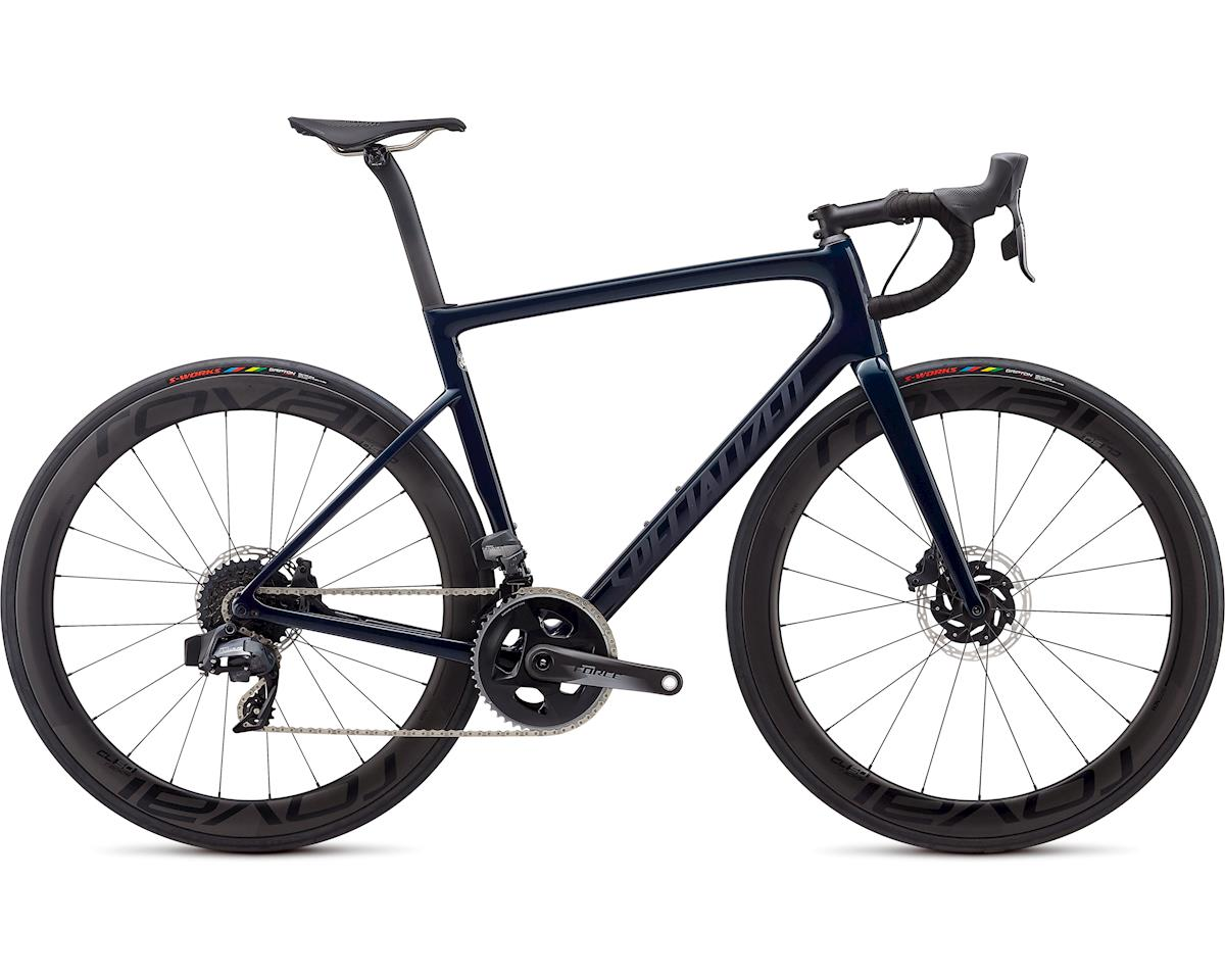 Specialized 2020 Tarmac Pro Disc -SRAM eTAP (Gloss Teal Tint/Black Reflective/Clean)