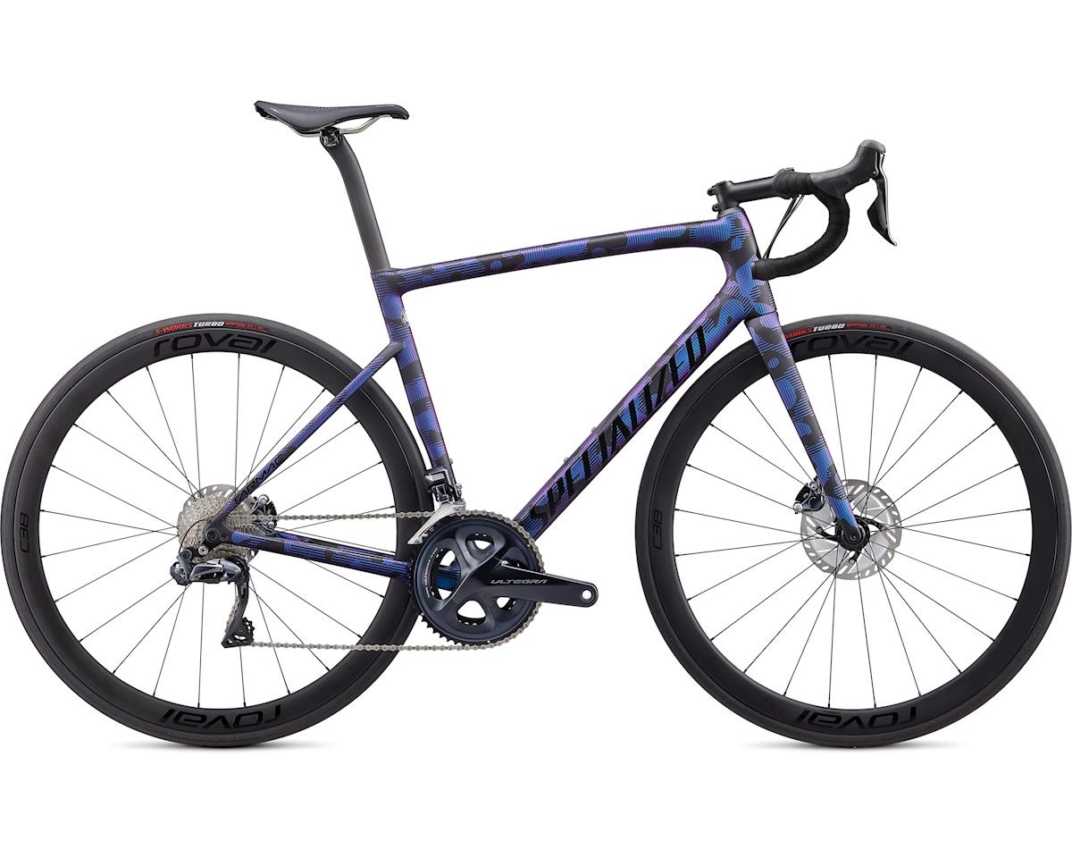 Specialized 2020 Tarmac Disc Expert (Satin Black/Chameleon/Gloss Tarmac Black) (54)