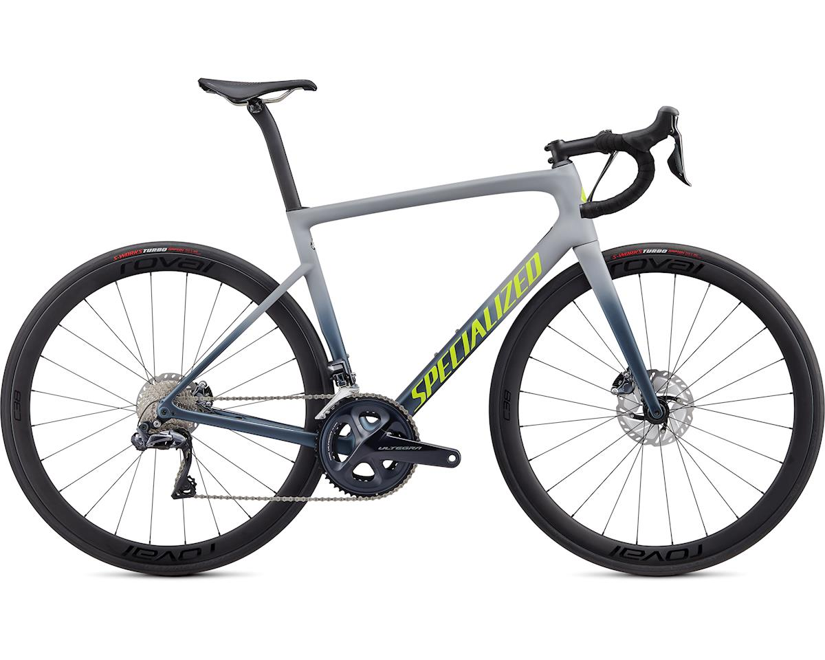 Specialized 2020 Tarmac Disc Expert (Satin Cool Grey/Cast Battleship/Team Yellow) (52)