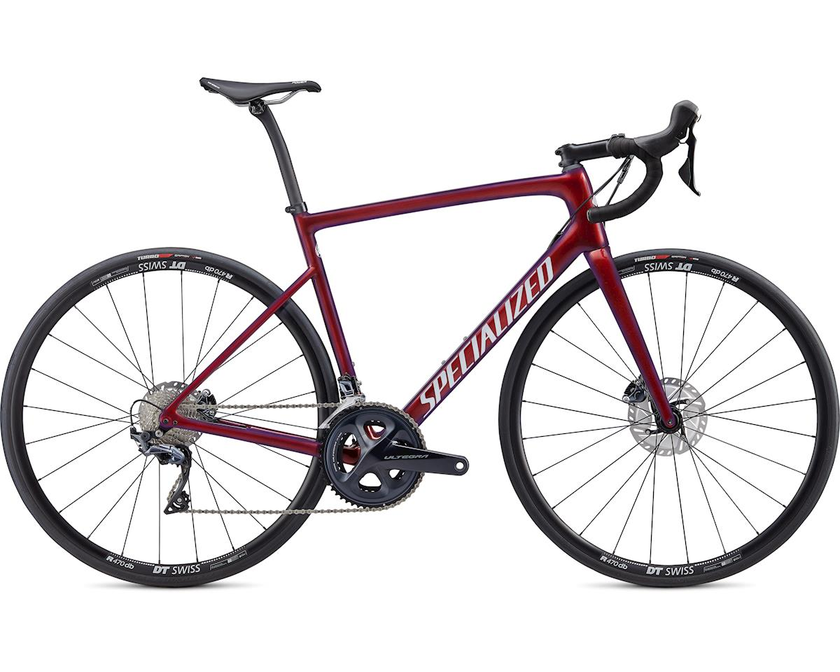 Specialized 2020 Tarmac Disc Comp (Gloss Cast Berry/Metallic Crimson/Dove Grey) (56)