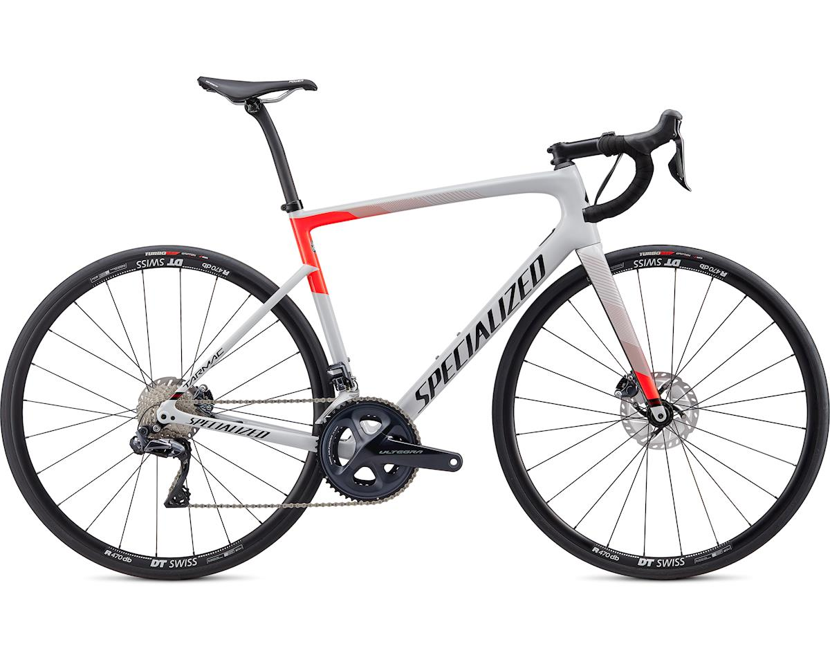 Specialized 2020 Tarmac Disc Comp - Ultegra Di2 (Gloss Dove Grey/Rocket Red/Tarmac Black) (58)