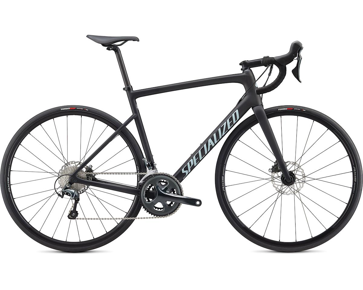Specialized 2020 Tarmac Disc (Satin Carbon/Summer Blue/Clean) (49)