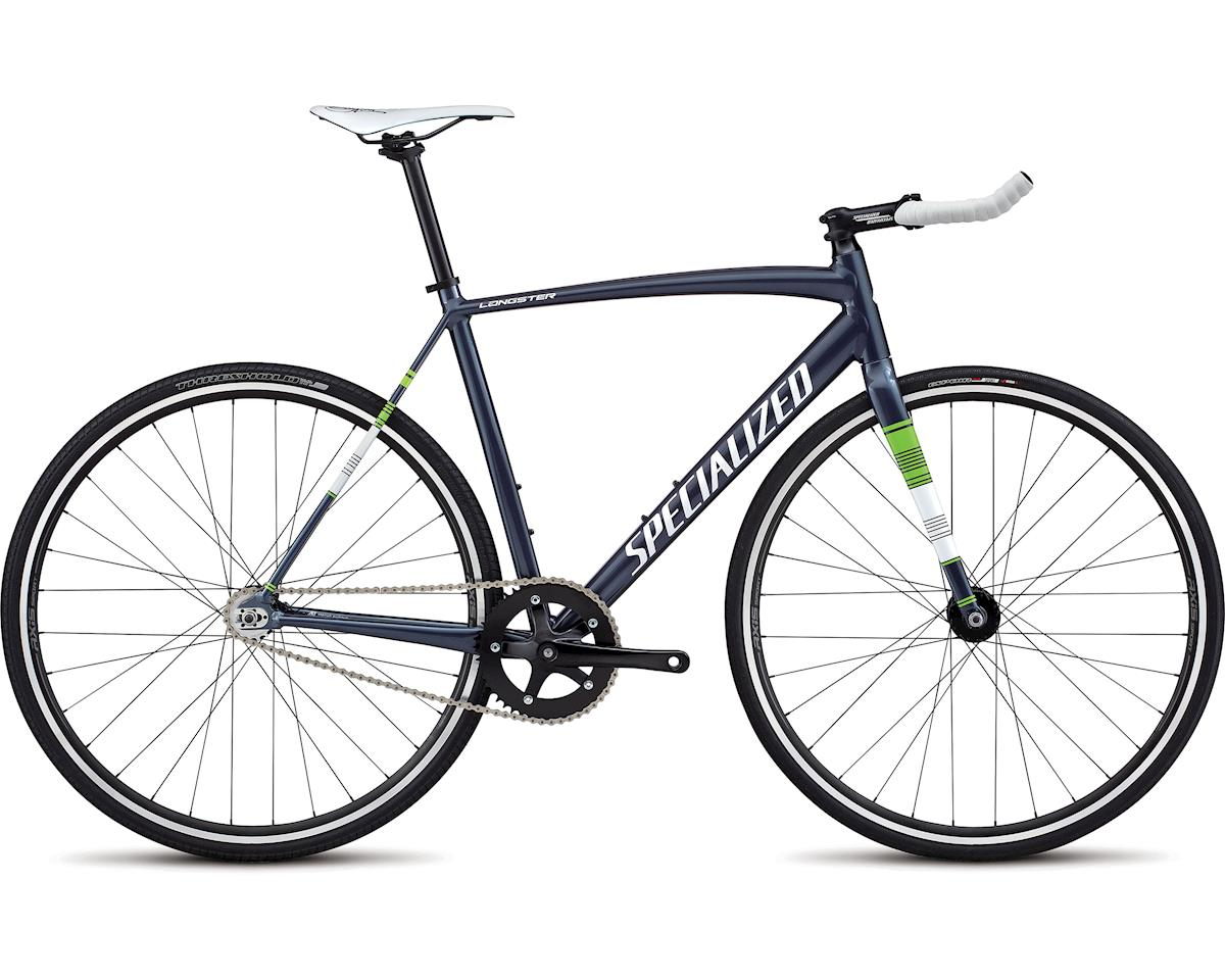 Specialized 2018 Langster Street (Ink/METALLIC WHITE SILVER/Monster Green)