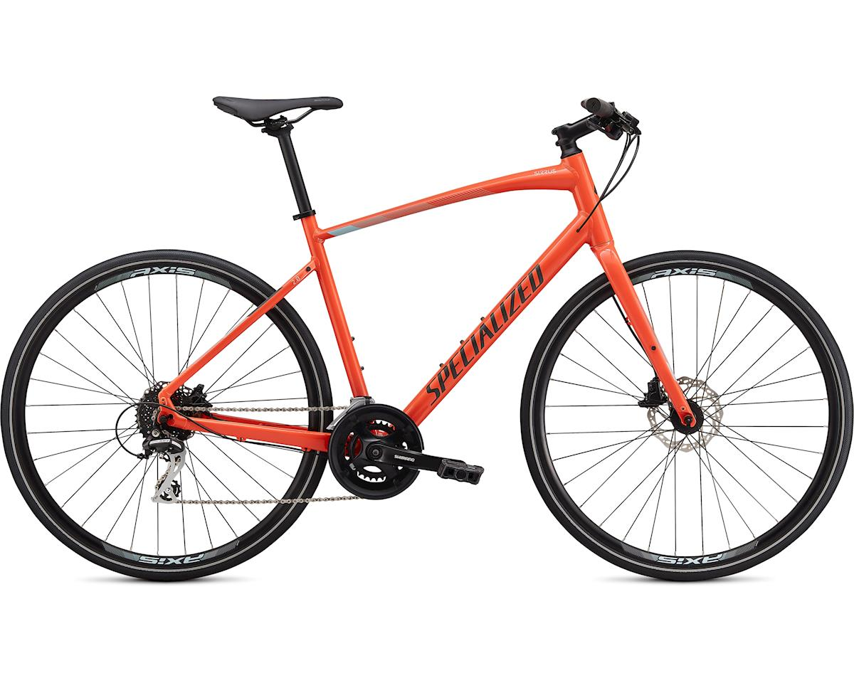 Specialized Sirrus 2.0 (Gloss Vivid Coral/Summer Blue/Satin Black Reflective)