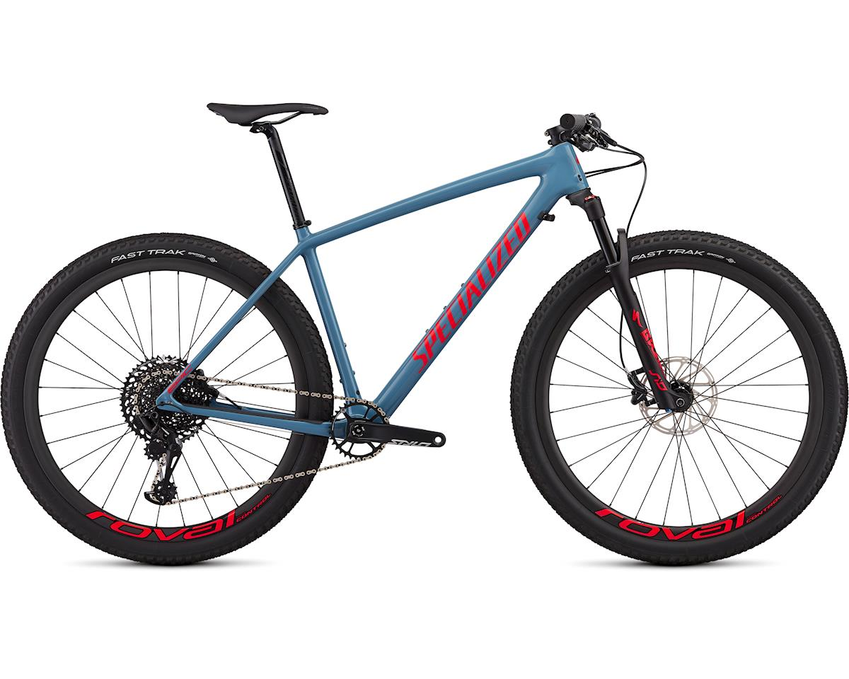 Specialized 2019 Epic Hardtail Expert (Gloss Storm Grey/Rocket Red)