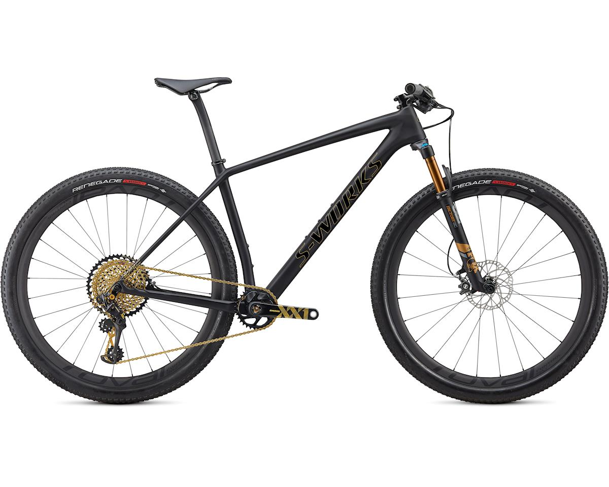 Specialized 2020 S-Works Epic Hardtail Ultralight (Satin Ultralight Black/Gold Foil)