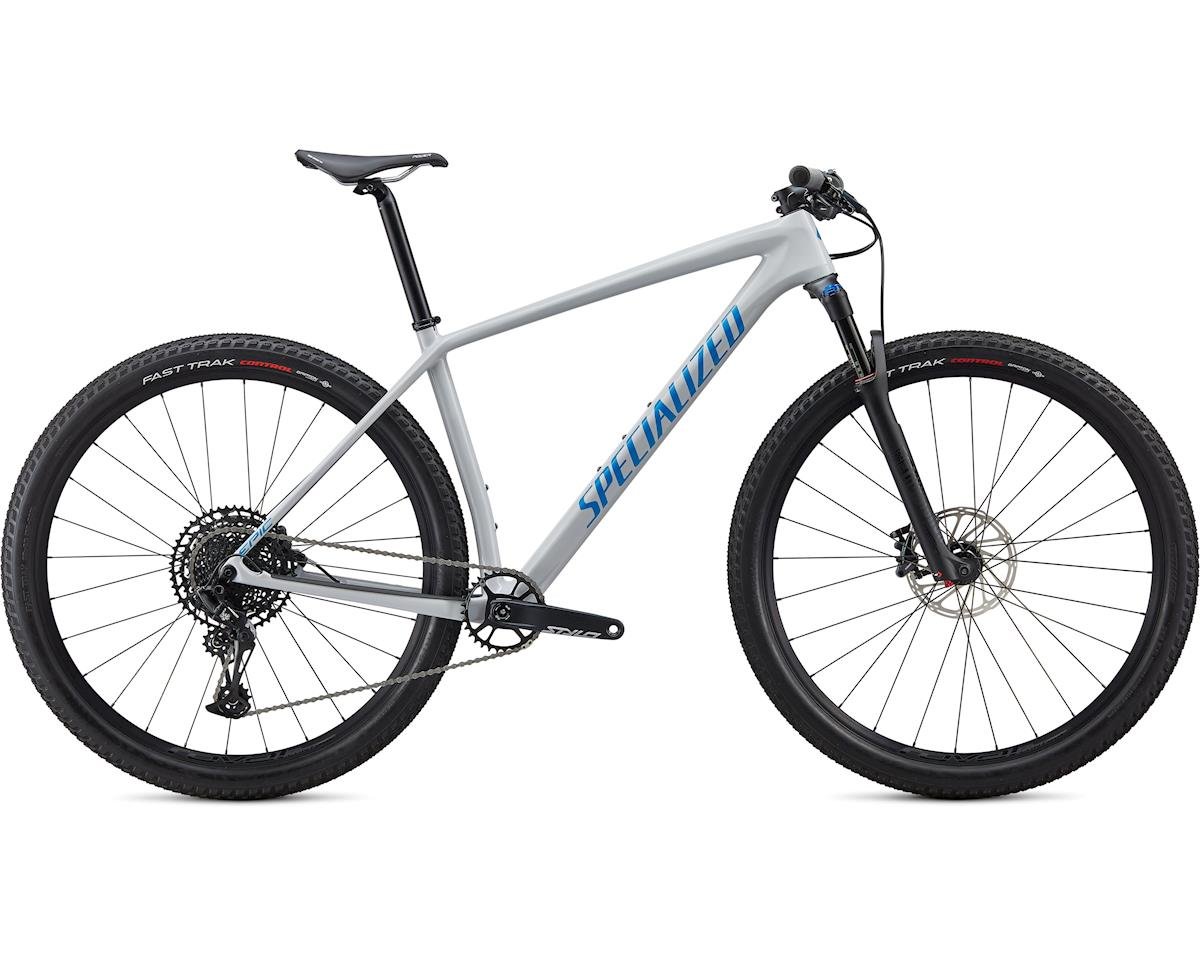 Specialized 2020 Epic Hardtail Comp (Gloss Dove Grey Blue Ghost Pearl/Pro Blue)