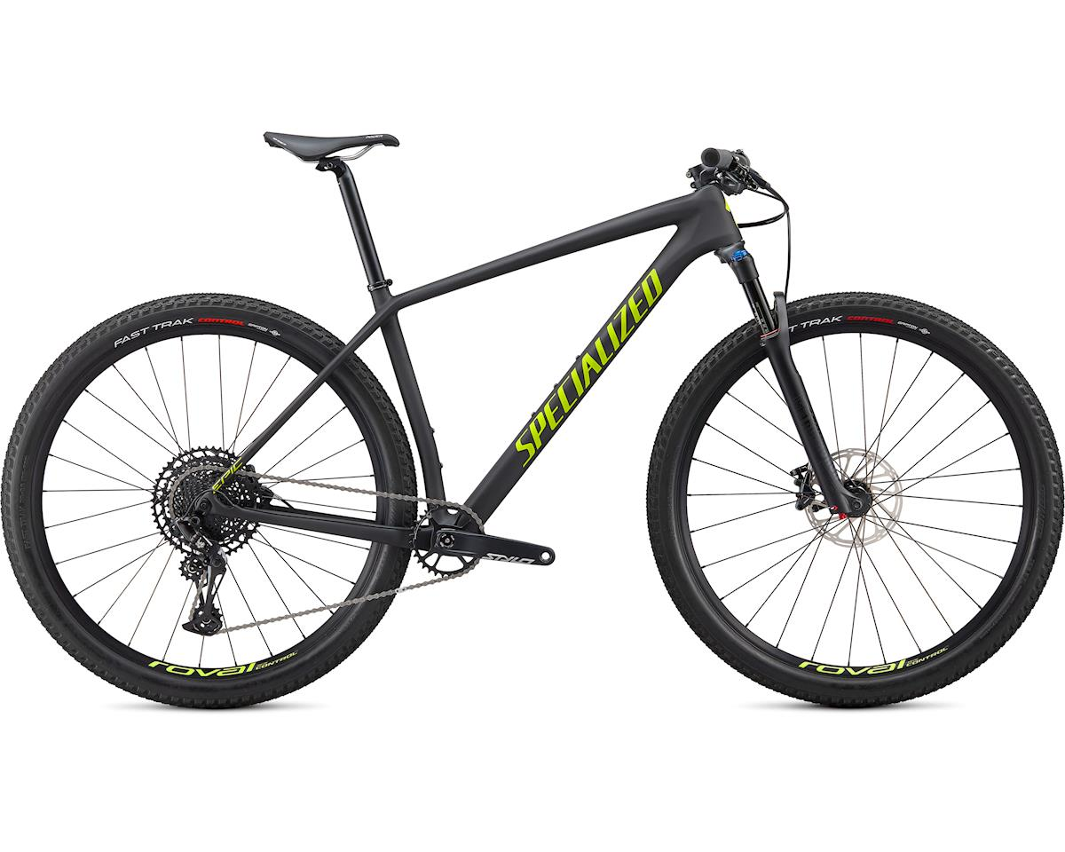 Specialized 2020 Epic Hardtail Comp (Satin Carbon/Hyper Green)