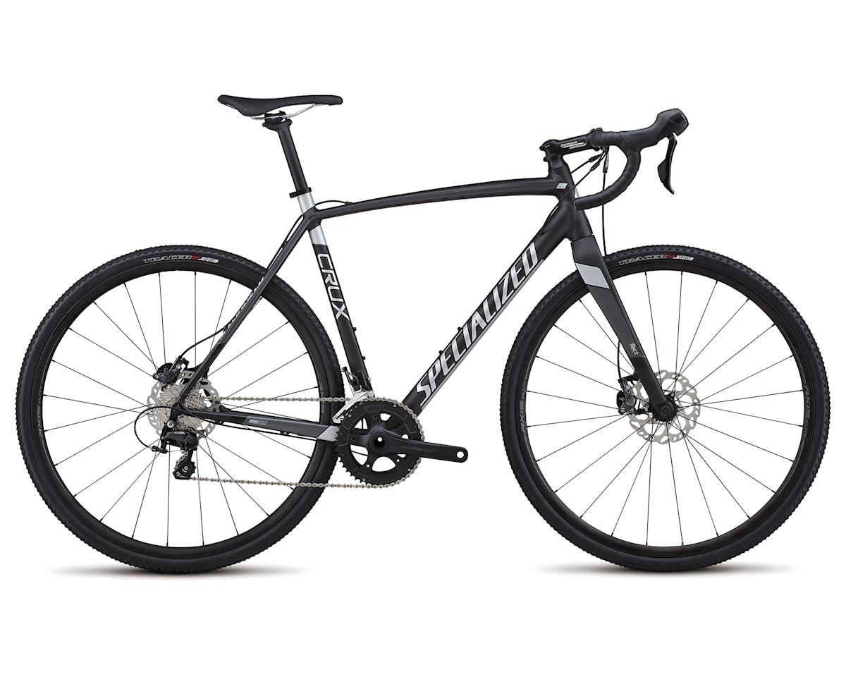 Specialized 2018 CruX Sport E5 (SATIN NEARLY BLACK / CHARCOAL / FLAKE SILVER)