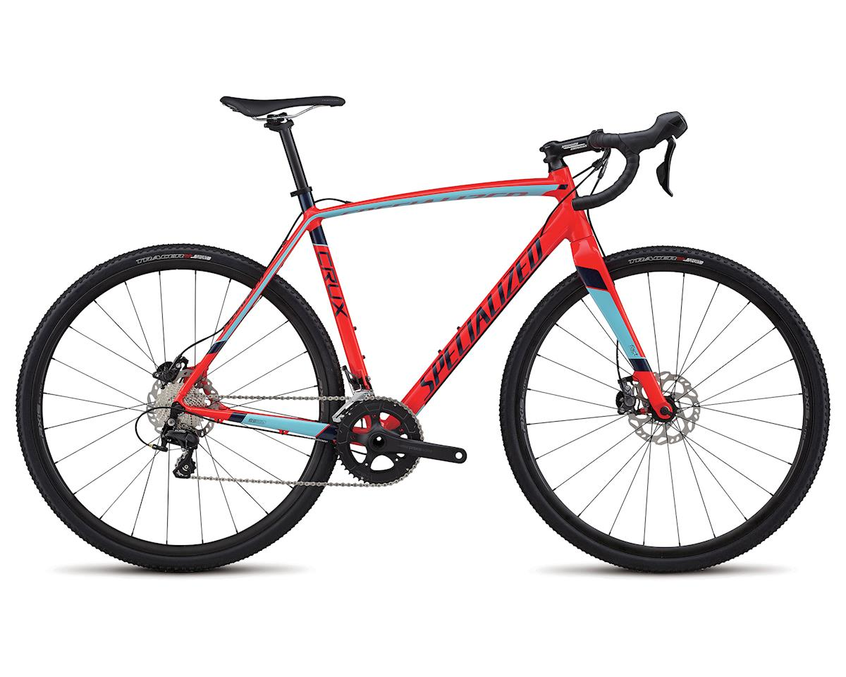 Specialized 2018 CruX Sport E5 (GLOSS ROCKET RED/ LIGHT BLUE/ NAVY)