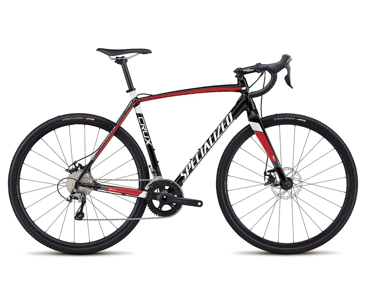 Specialized 2018 CruX E5 (TARMAC BLACK/FLO RED/METALLIC WHITE)