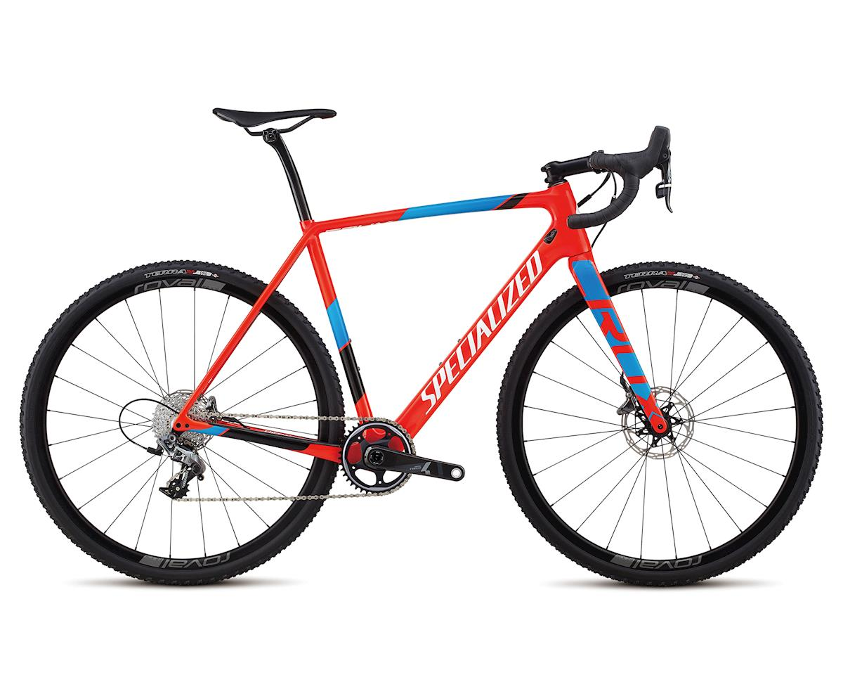 Specialized 2018 CruX Expert X1 (Gloss Rkt Red/Neon Blue/Cyan/Met White Silver)