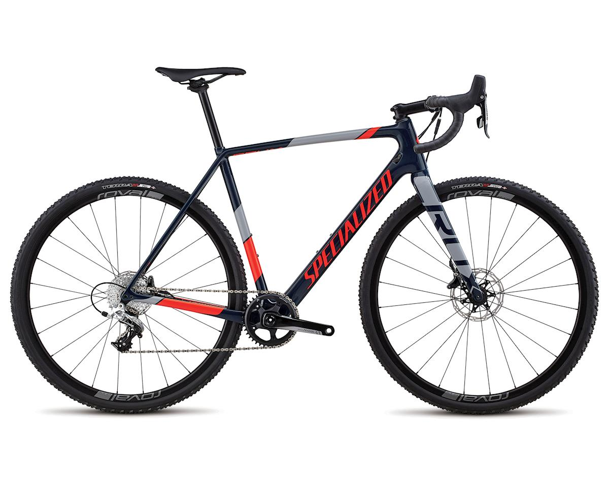 Specialized 2018 CruX Elite X1 (Gloss Cast Blue/Rkt Red/Cool Gray)
