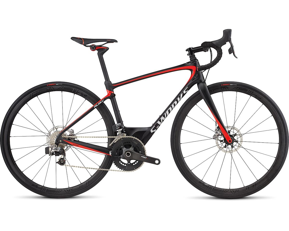 Specialized 2018 S-Works Ruby eTap (TARMAC BLACK/NORDIC RED/CHROME)