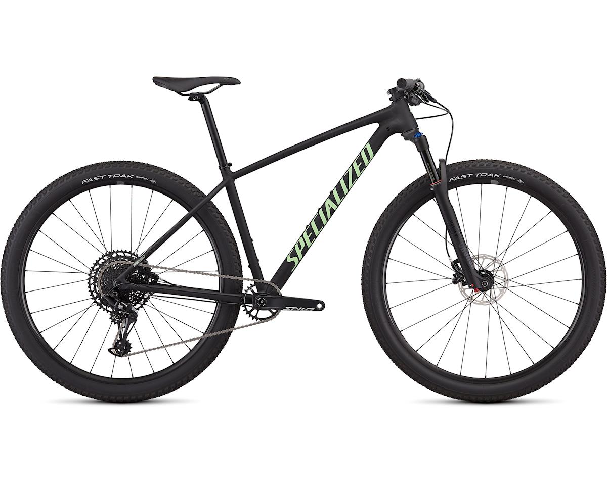 Specialized 2019 Women's Chisel Expert (Satin Gloss Black/Acid Kiwi)