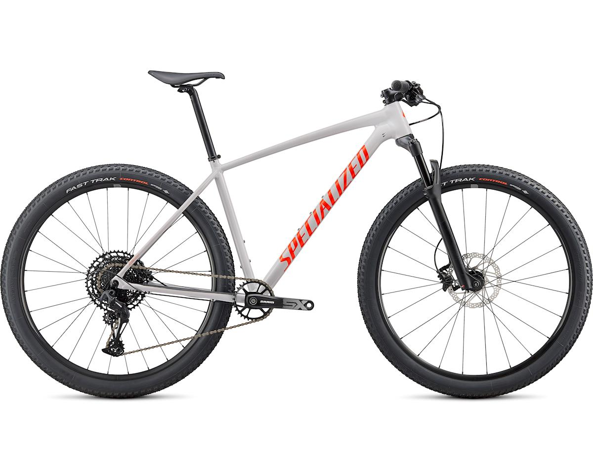 Specialized 2020 Chisel Comp (Gloss Dove Grey/Rocket Red/Crimson)