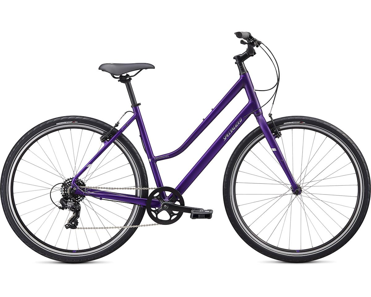 Specialized 2020 Crossroads 1.0 Step-Through (Plum Purple / Chrome)
