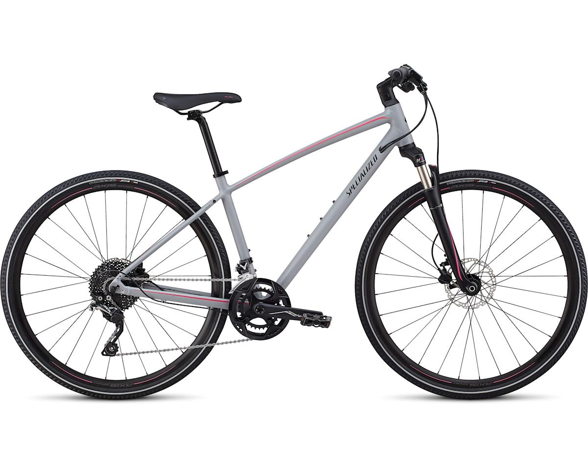 Specialized 2019 Ariel Elite (Satin Cool Gray/Acid Pink/Tarmac Black Reflective)
