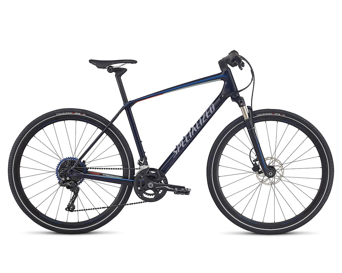 Specialized 2018 CrossTrail Expert Carbon (BLUE TINT/BABY BLUE/NORDIC RED REFLECTIVE)
