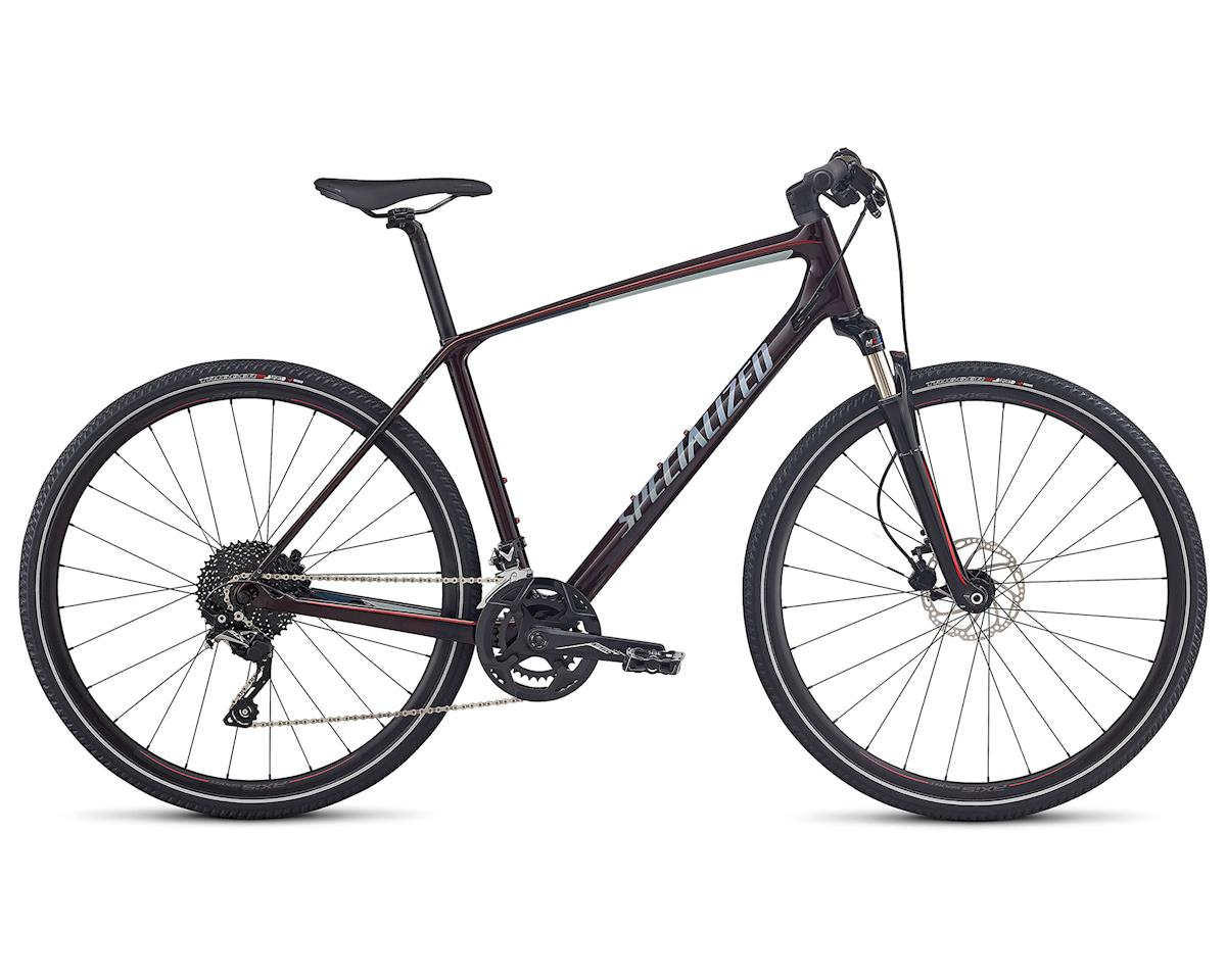 Specialized 2018 CrossTrail Elite Carbon (RED TINT/BABY BLUE/COBRA BLUE REFLECTIVE)