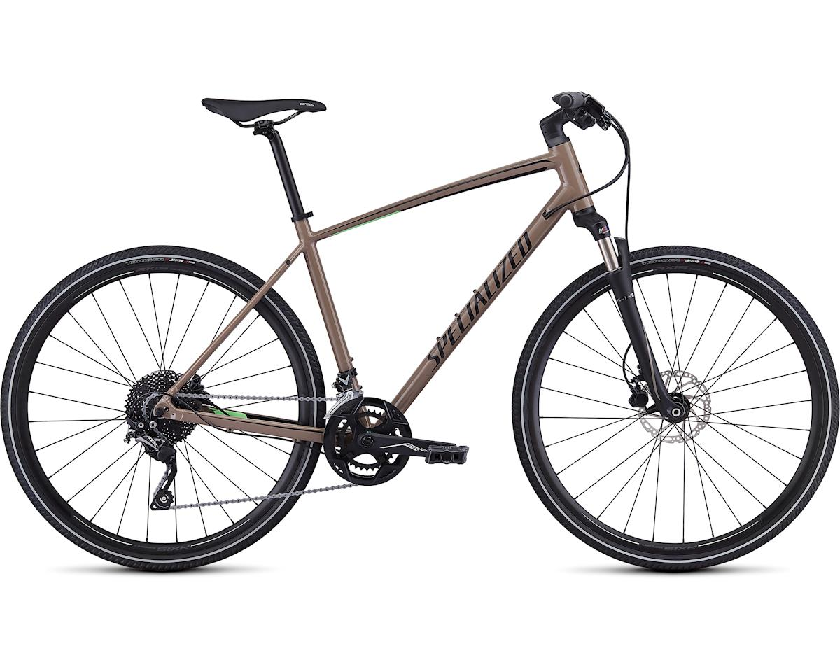 Specialized 2019 Crosstrail Elite (Gloss Taupe/Acid Kiwi/Black Reflective)