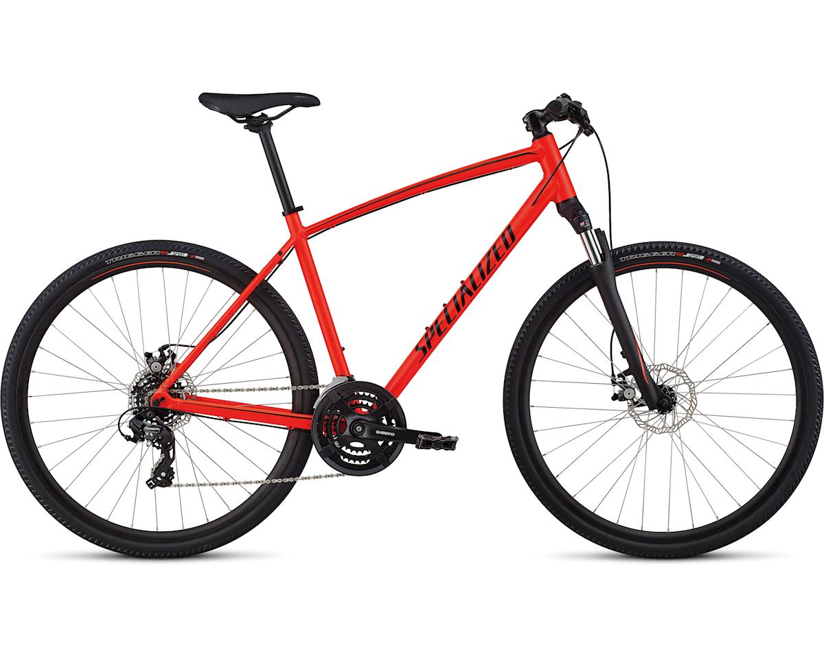 Specialized 2019 Crosstrail - Mechanical Disc (Satin Rocket Red/Limon/Black Reflective)