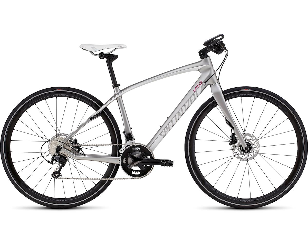 Specialized 2017 Vita Expert Carbon (Gloss Platinum/Micro Pearl White/Pink)