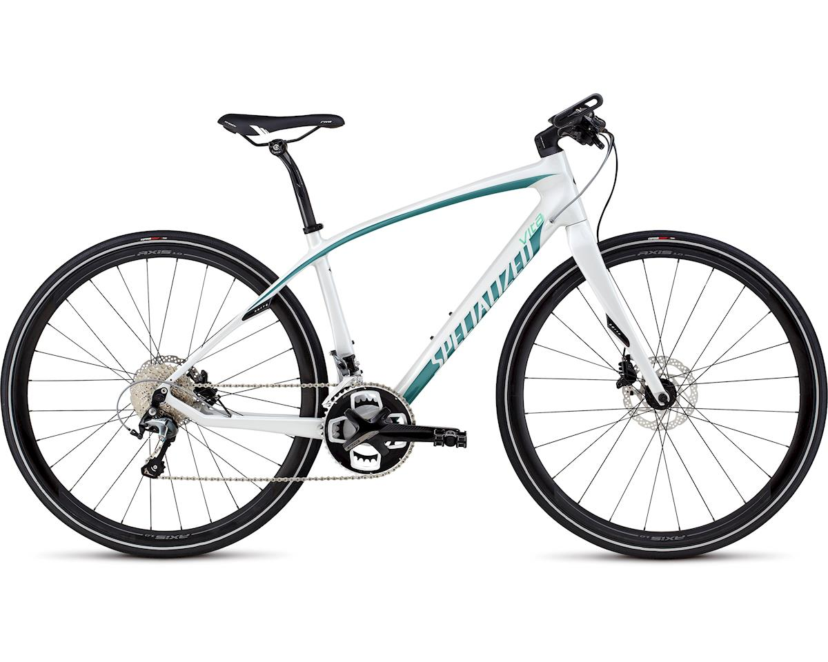 Specialized 2016 Vita Comp Carbon (Gloss Dirty White/Prl Turquoise/Charcoal) (XL)