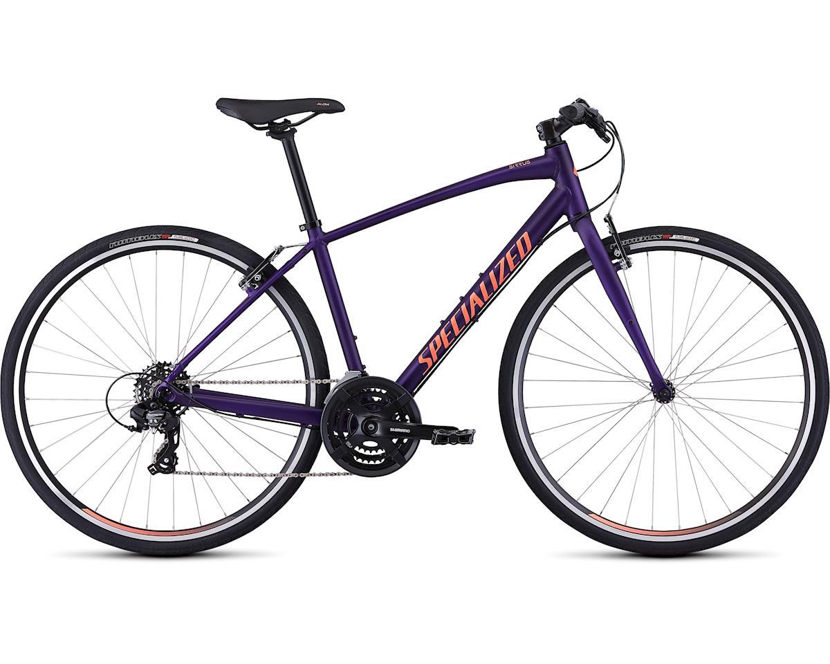 Specialized 2019 Women's Sirrus V-Brake (Satin Plum Purple/Acid Lava)