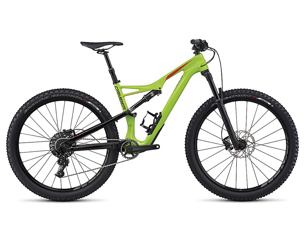 Specialized 2017 Camber FSR Comp Carbon 650b (Monster Green/Nordic Red)