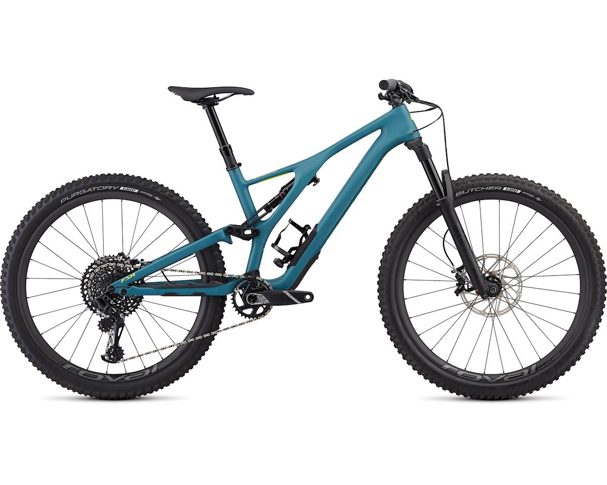 Specialized Men's Stumpjumper ST Expert 27.5 (Satin/Dusty Turquoise/Team Yellow)