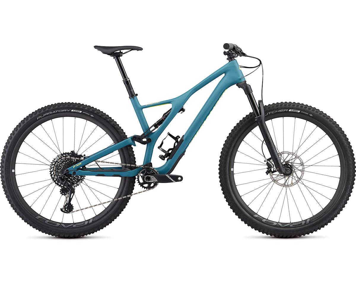 Specialized Men's Stumpjumper ST Expert 29 (Satin/Dusty Turquoise/Team Yellow)