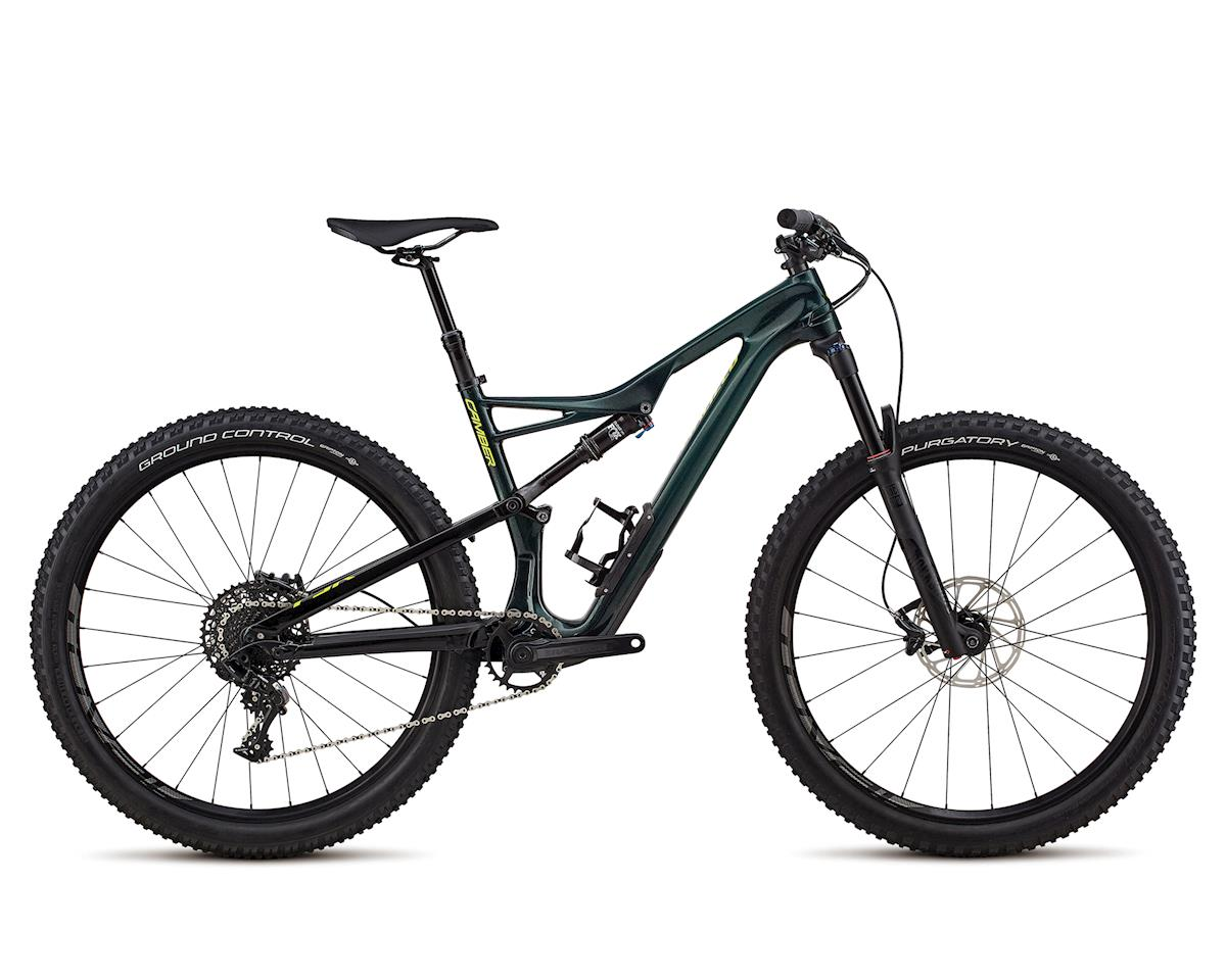 Specialized 2018 Men's Camber Comp Carbon 27.5 (GLOSS CAVENDISH GREEN / HYPER GREEN CLEAN)