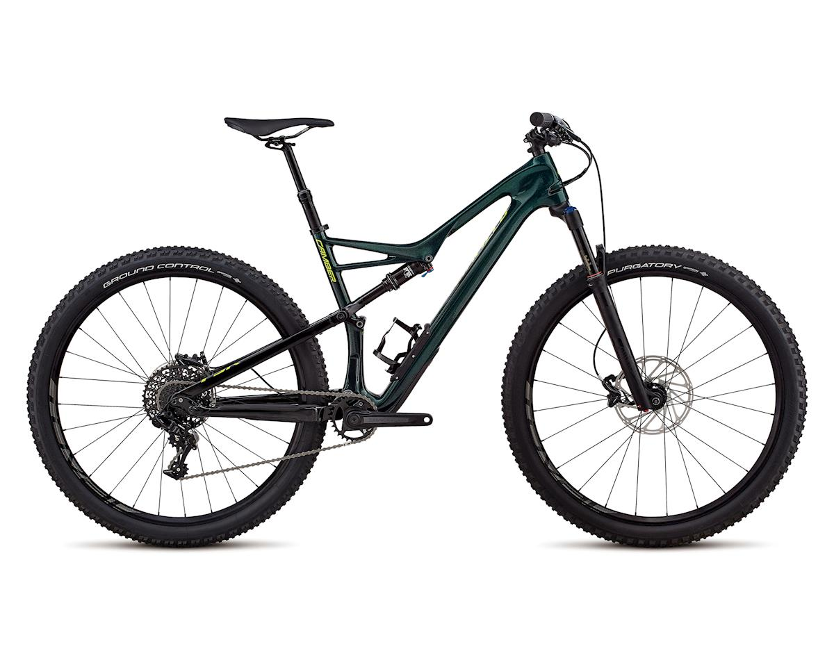 Specialized 2018 Men's Camber Comp Carbon 29 - 1x (GLOSS CAVENDISH GREEN / HYPER GREEN CLEAN)