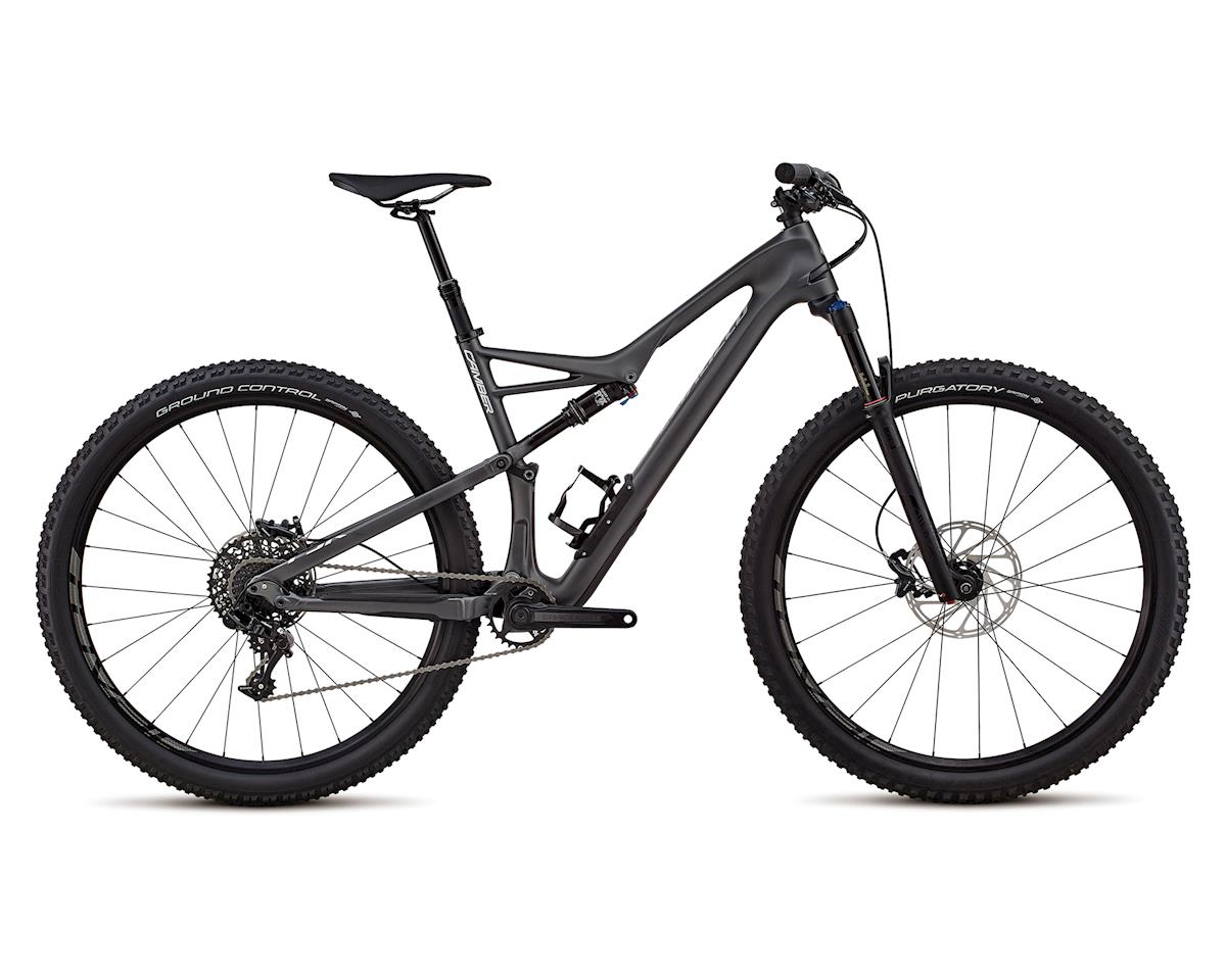Specialized 2018 Men's Camber Comp Carbon 29 - 1x (SATIN GRAPHITE / FLAKE SILVER CLEAN)