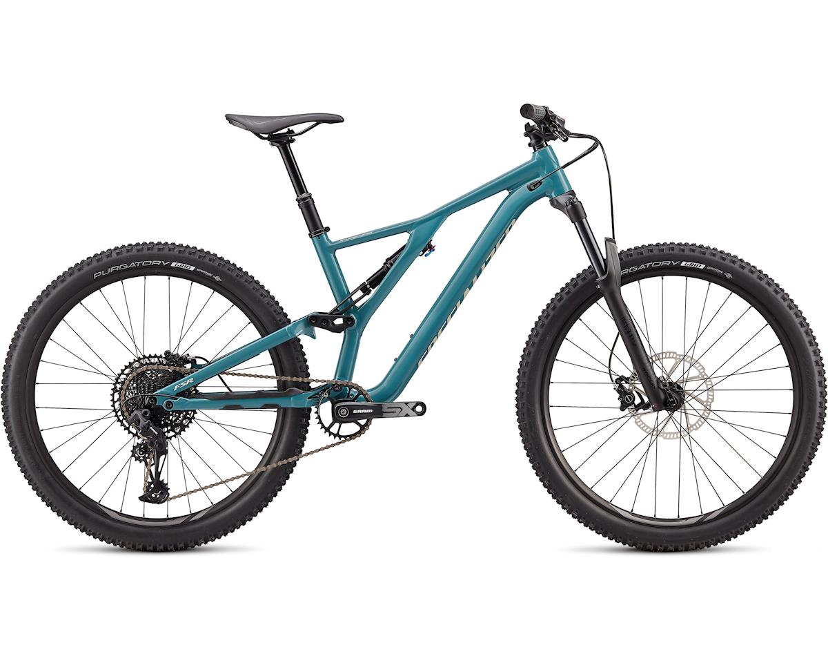 Specialized 2020 Stumpjumper ST Alloy 27.5 (GLOSS DUSTY TURQUOISE / WHITE MOUNTAINS)