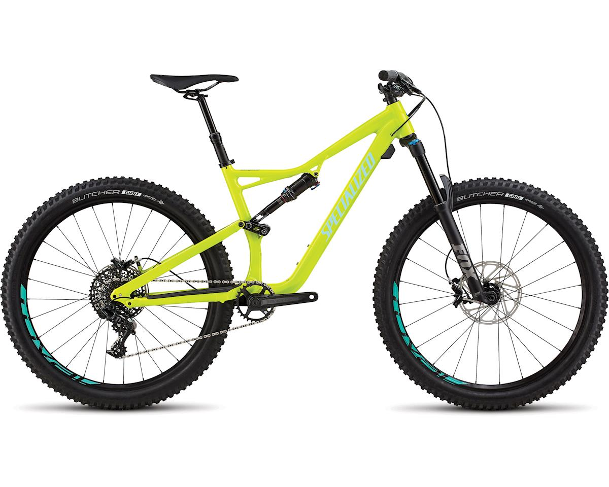 Specialized 2018 Stumpjumper Comp Alloy 27.5 (GLOSS HYPER / MINT CLEAN)