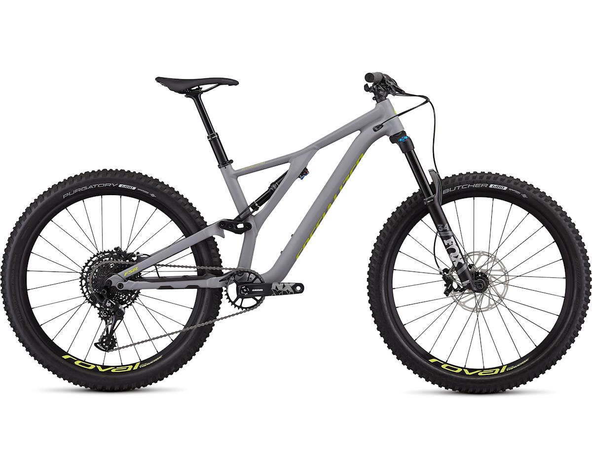 Specialized Men's Stumpjumper Comp Alloy 27.5 (Satin Cool Grey/Team Yellow)