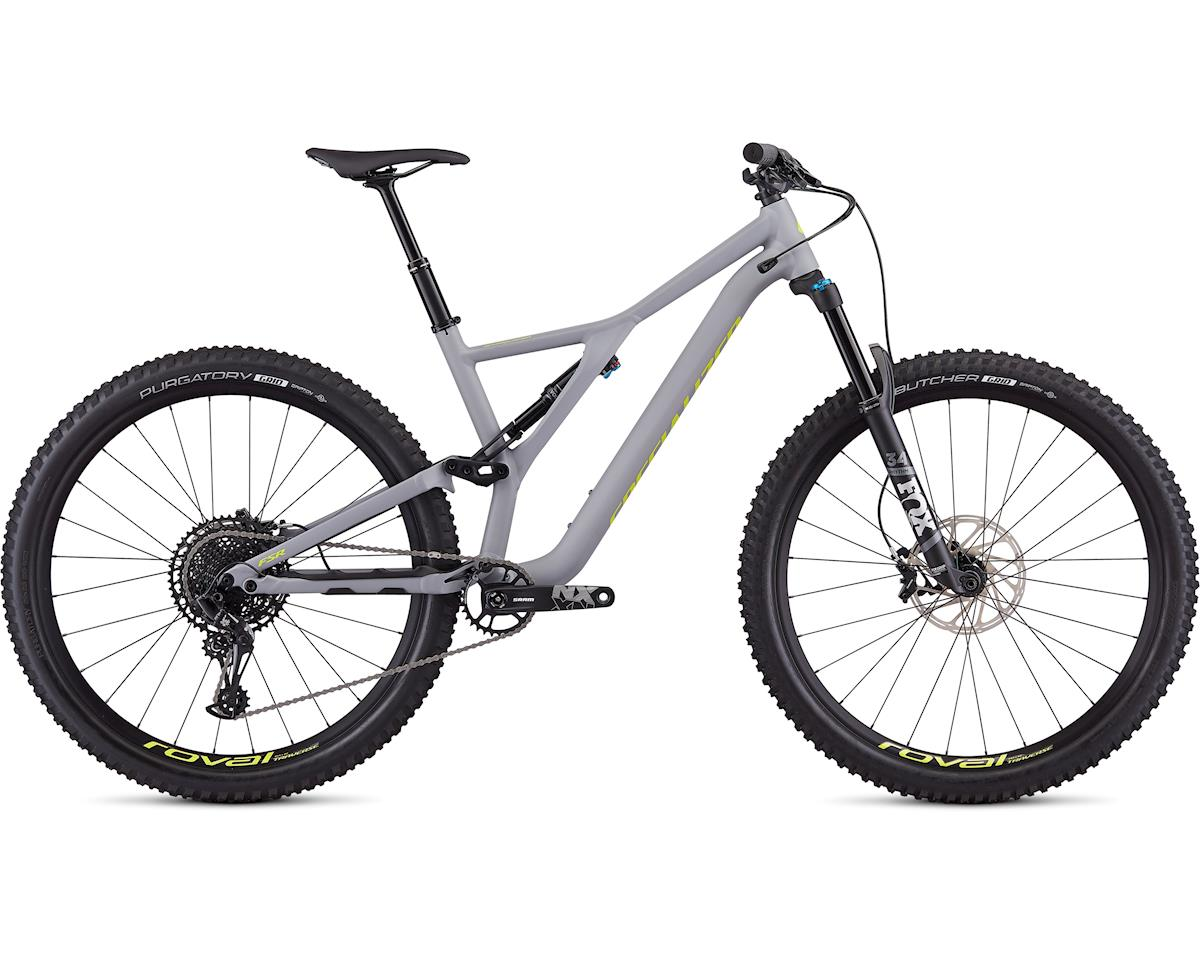 Specialized Men's Stumpjumper Comp Alloy 29 (Satin Cool Grey/Team Yellow)
